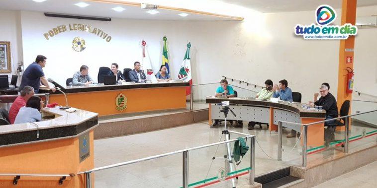 Sessão Ordinária no Legislativo capinopolense na noite de 06 de maio de 2019 (Foto: Tudo Em Dia)