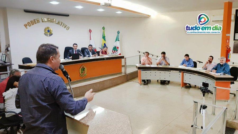 O parlamentar Caetano Neto da Luz durante oradores inscritos na sessão desta segunda-feira (27) de maio (Foto: Paulo Braga)O parlamentar Caetano Neto da Luz durante oradores inscritos na sessão desta segunda-feira (27) de maio (Foto: Paulo Braga)
