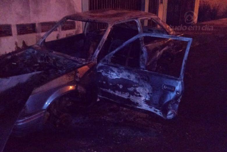 Onda de incêndio começa a preocupar população de Ituiutaba (Foto: Bombeiros/Divulgação)
