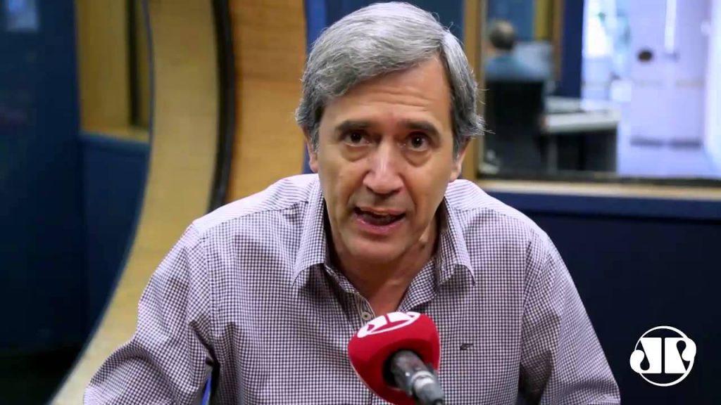Marco Antonio Villa na Jovem Pan (Foto: Reprodução)