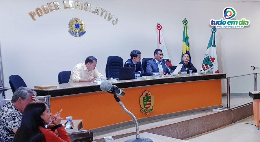 Sessão ordinária da Câmara Municipal de Capinópolis (Foto: Arquivo/Tudo Em Dia)