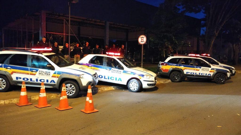 Lançamento da Operação em Ituiutaba, no Pontal do Triângulo Mineiro (Foto: PMMG)