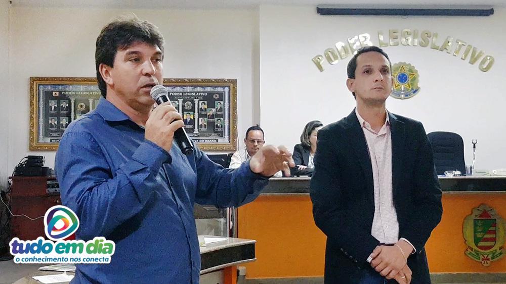 (Esq) Cleidimar Zanotto e Luciano Belchior (Foto: Paulo Braga)