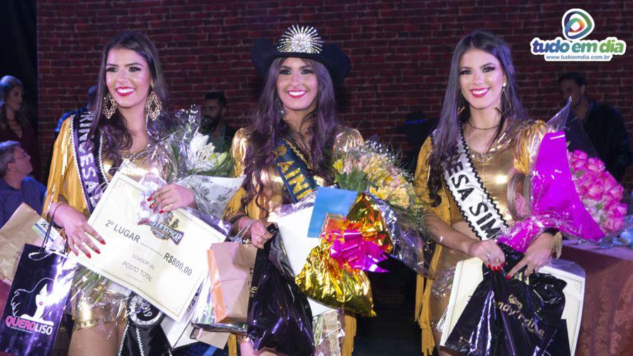 (esq) Maria Clara (2º lugar), Monielen Vilarinho (1º Lugar) e Débora Camargo (3ª colocada) (Foto: Paulo Braga/Tudo Em Dia)