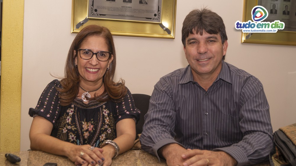 Cristina Martins e Cleidimar Zanotto (Foto: Paulo Braga)