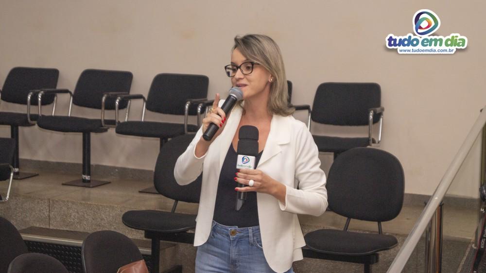 Núbia Luciana, vereadora (Foto: Paulo Braga)