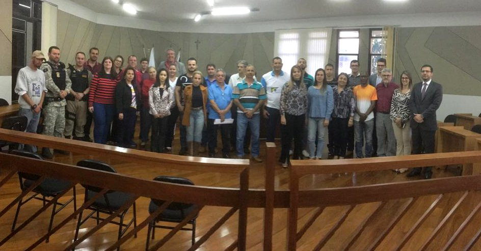 Os projetos aprovados foram apresentados no Fórum Odovilho Alves Garcia na última segunda-feira (8). (Foto: Divulgação)