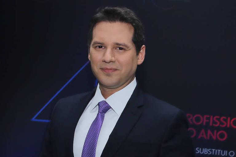 O jornalista Dony De Nuccio - Francisco Cepeda/AgNews