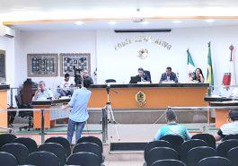 Sessão Ordinária da Câmara Municipal