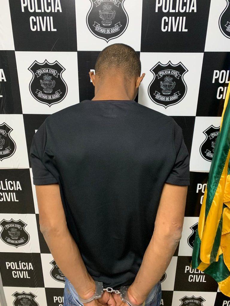 M.T.S. foi preso em Capinópolis, no Triângulo Mineiro (Foto: PCMG)