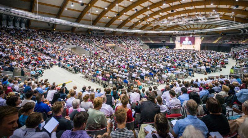 Foto do Congresso Internacional realizado em São Paulo, em Julho de 2019 (Foto: Reprodução)