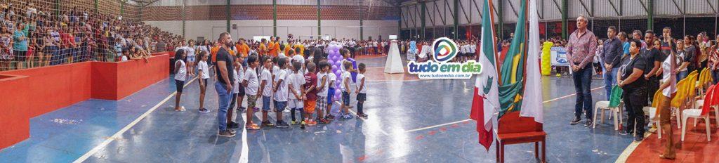 Abertura oficial dos Jogos Estudantis 2019 (Foto: Paulo Braga)