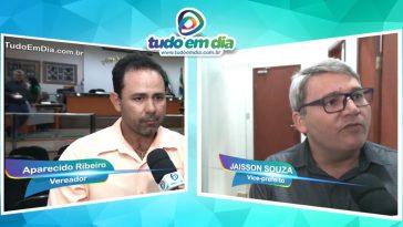 (Esq) Aparecido Ribeiro e Jaisson Souza