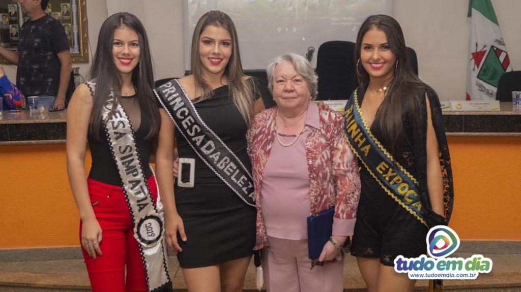 (esq) Débora Camargo, Maria Clara, Maria Helena Felippe e Monielen Vilarinho (Foto: Gabriel Braga)