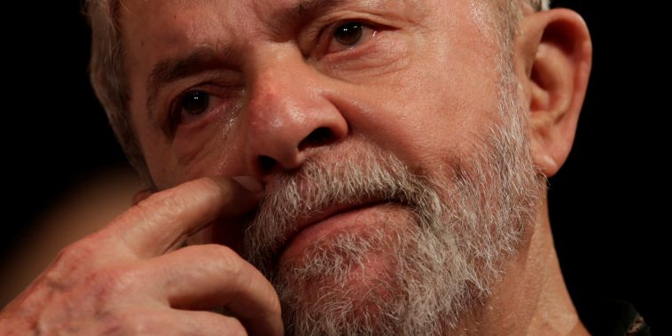 O ex-presidente Luiz Inácio Lula da Silva durante evento no Rio de Janeiro 16/01/2018 REUTERS/Ricardo Moraes