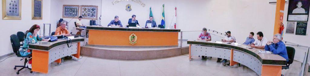 Sessão Ordinária da Câmara Municipal em 30 de setembro de 2019 (Foto: Paulo Braga)