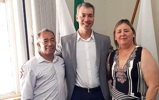 Carlos Henrique Araújo Vidigal,  Edelves Rosa Luna e  Silvana Ramalho da Silva (Foto: Divulgação)