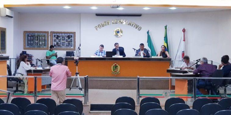 Sessão Ordinária da Câmara Municipal (Foto: Gabriel Kazuto)