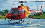 Helicóptero Arcanjo atende toda a região do Triângulo Mineiro (Foto: Bombeiros/Divulgação)