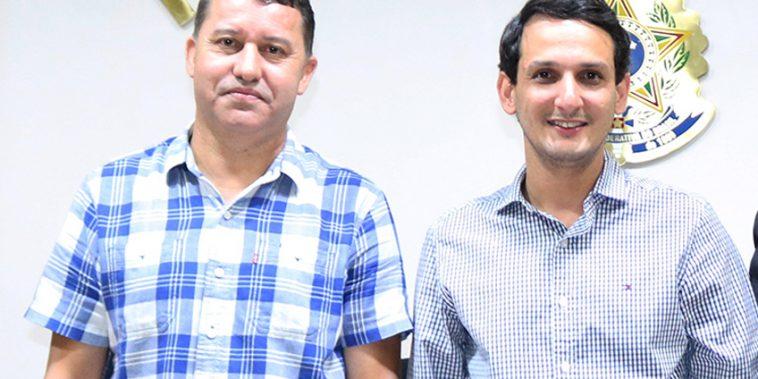 Vereadores Caetano Neto da Luz e Luciano Belchior (Foto: Arquivo/Tudo Em Dia)