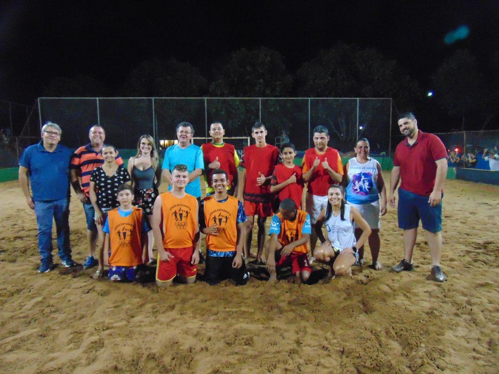 Evento esportivo foi realizado na quadra do bairro Alvorada