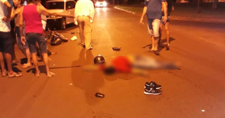 Jovem chegou a ser socorrido pela unidade do Samu, mas não resistiu aos ferimentos (Foto: Redes Sociais)