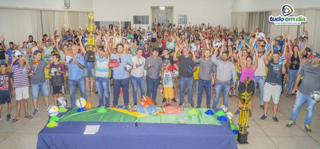 Salão de eventos João Felippe ficou lotado durante o lançamento do projeto (Imagens: Paulo Braga / Gabriel Kazuto — Tudo Em Dia)