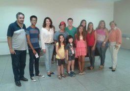 Vencedores do Canto da Terra em Capinópolis (Foto: Ascom)