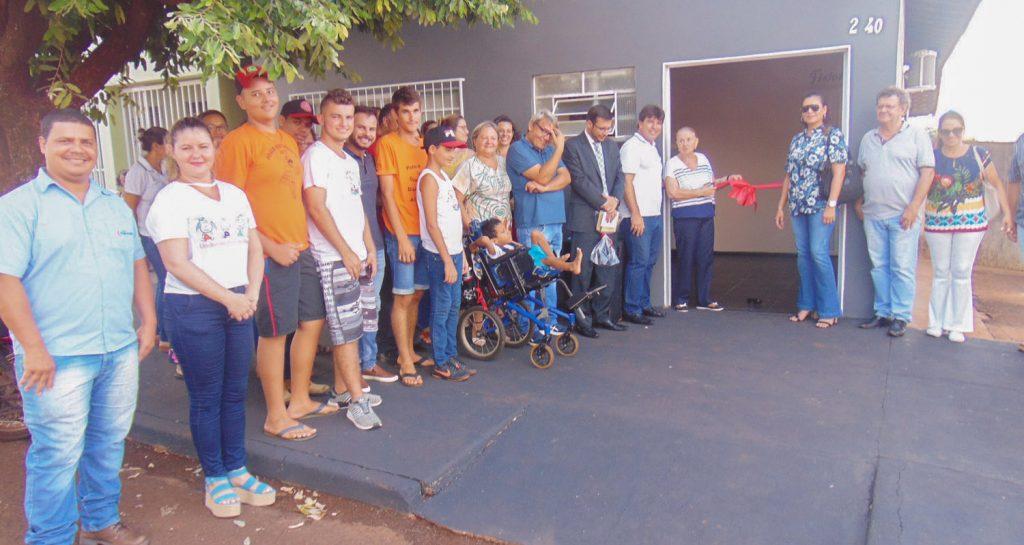 Solenidade marcou reinauguração do NAE na APAE, em Capinópolis