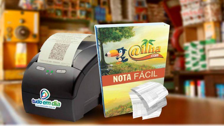 Nota fiscal eletrônica de consumidor (NFC-E) de forma fácil é com o 'Nota Fácil' (Arte: Tudo Em Dia)