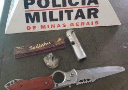 Materiais foram apreendidos pela PMMG (Foto: Divulgação)