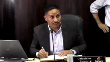 Vereador Chiquinho foi reeleito presidente do Legislativo de Capinópolis (Foto: Câmara)