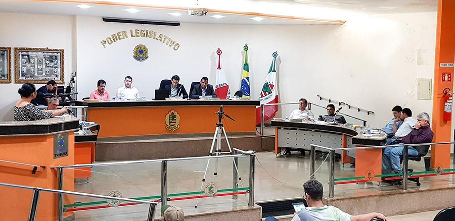 Sessão ordinária do Legislativo desta segunda-feira (04) - Foto: Paulo Braga