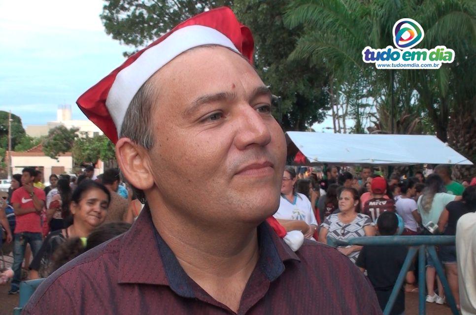 Jaisson Souza durante entrevista ao Tudo Em Dia (Foto: Gabriel Kazuto)