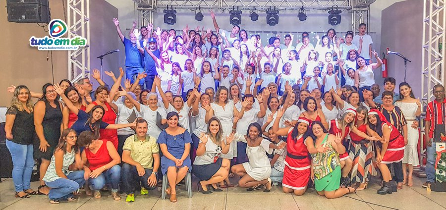 """Cantata """"Alegria de Natal"""" emocionou o público no salão João Felippe (Foto: Paulo Braga)"""