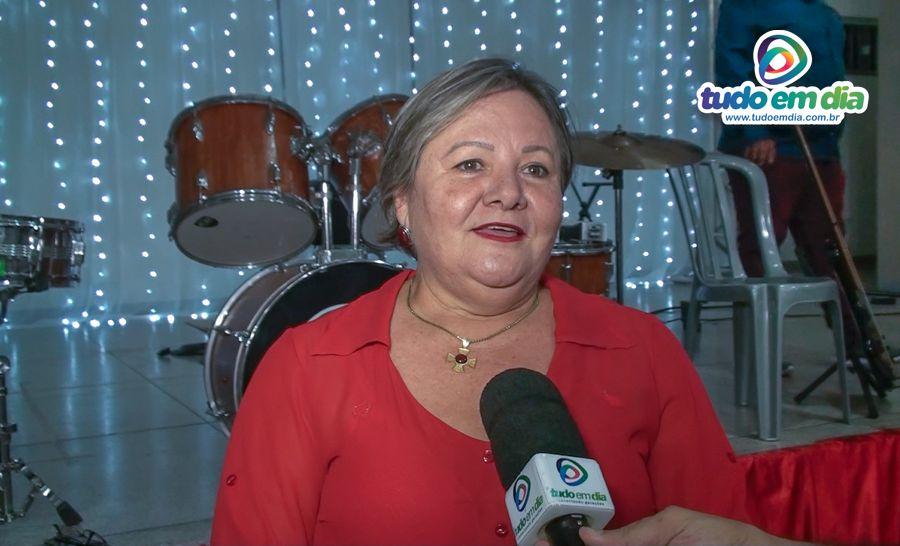 Iracilda Duarte durante entrevista ao Tudo Em Dia (Imagem: Daniel Braga/Tudo Em Dia)