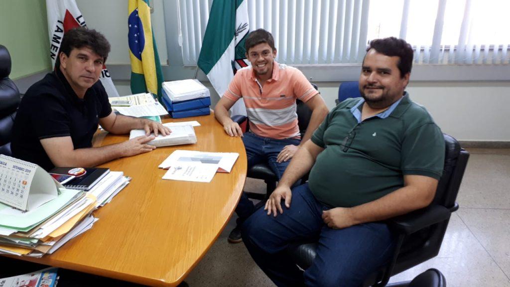 (Esq) Cleidimar Zanotto, Daniel França e Lúcio Rodrigues (Foto: Divulgação)