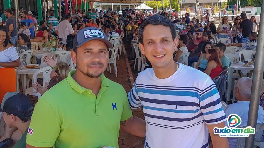 (Esq) André (Carioca) e Luciano Belchior (Foto: Paulo Braga)