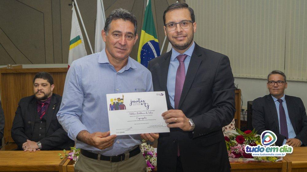(Esq) Adilson Balduíno e Dr. Thales Cazonato (Foto: Gabriel Kazuto/Tudo Em Dia)