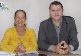 Suely Pricinoti e Caetano Neto da Luz (Foto: Gabriel Kazuto)