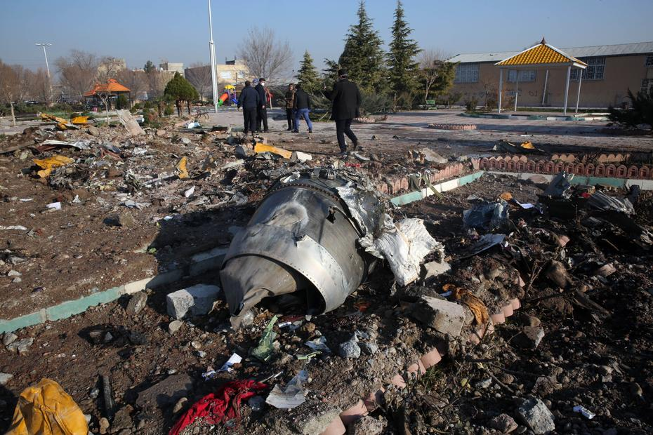 Todas as pessoas a bordo morreram / Foto: Reprodução/AFP