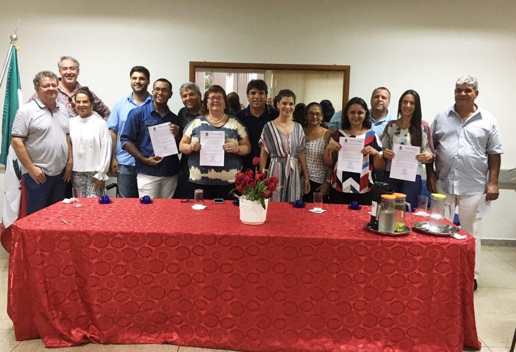 Conselheiros Tutelares tomam posse (Foto: Ascom)