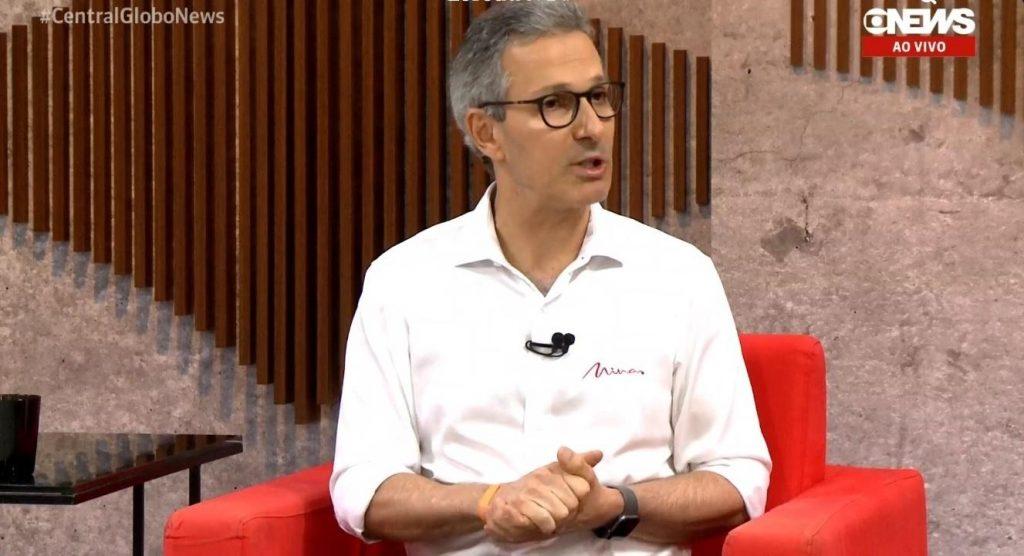 Romeu Zema (Foto: Reprodução Globonews)