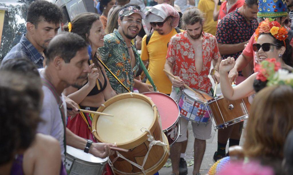 Blocos fazem a abertura não oficial do carnaval de rua no centro do Rio de Janeiro / © Tomaz Silva/Agência Brasil