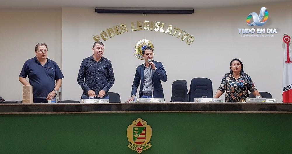 (Esq)  Guilherme Mendes Furgler, Caetano Neto da Luz, Luciano Belchior e Neide Martins (Foto: Gabriel Kazuto/Tudo Em Dia)