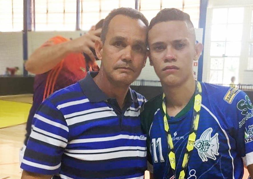 (esq) Jair Garcia e o filho Felipe (Foto: Arquivo pessoal)