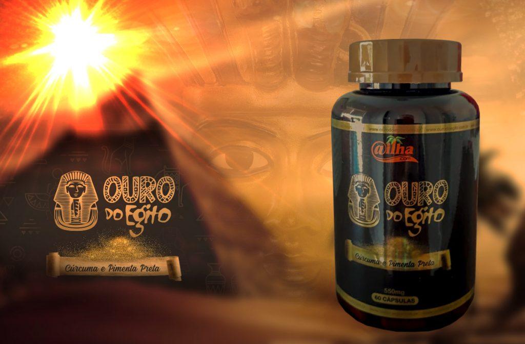 Ouro do Egito - Cúrcuma + pimenta preta
