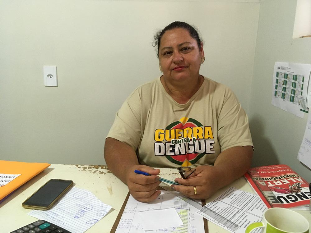 Marilane Vilela (Foto: Ascom/Prefeitura de Capinópolis)