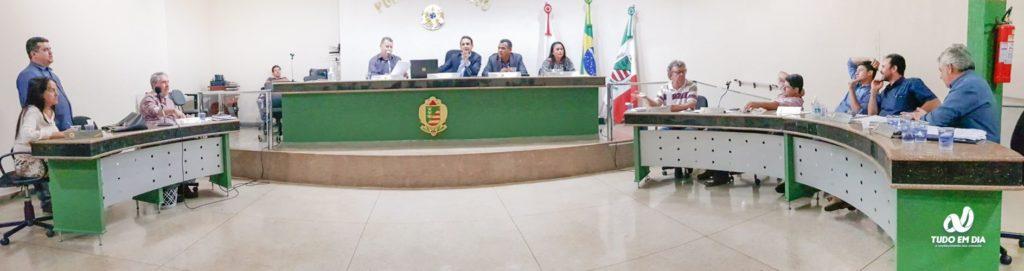 Sessão ordinária foi realizada nesta segunda-feira (16) — Foto: Gabriel Kazuto/Tudo Em Dia