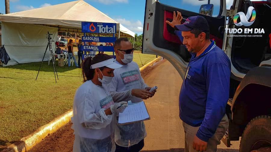 Em março de 2020, as barreiras sanitárias chegaram a ser implementadas em Capinópolis | Foto: Paulo Braga